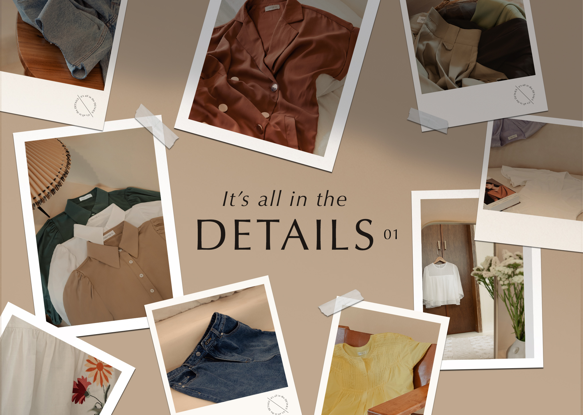 IT'S ALL IN THE DETAILS VOL. 01