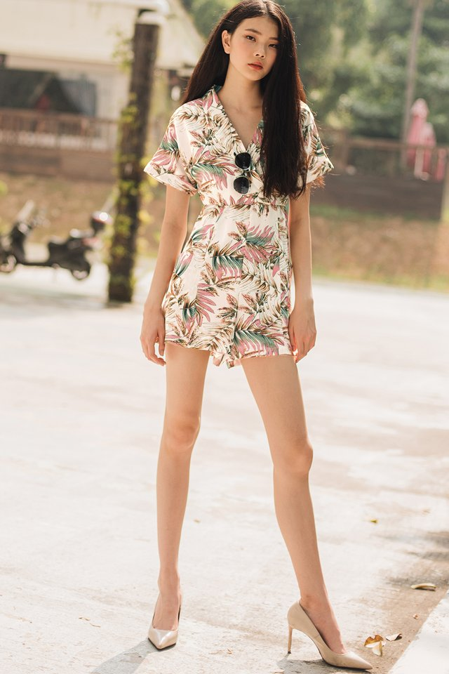 ACASIA PLAYSUIT IN WHITE