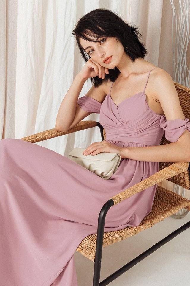 BALLY MAXI IN PINK