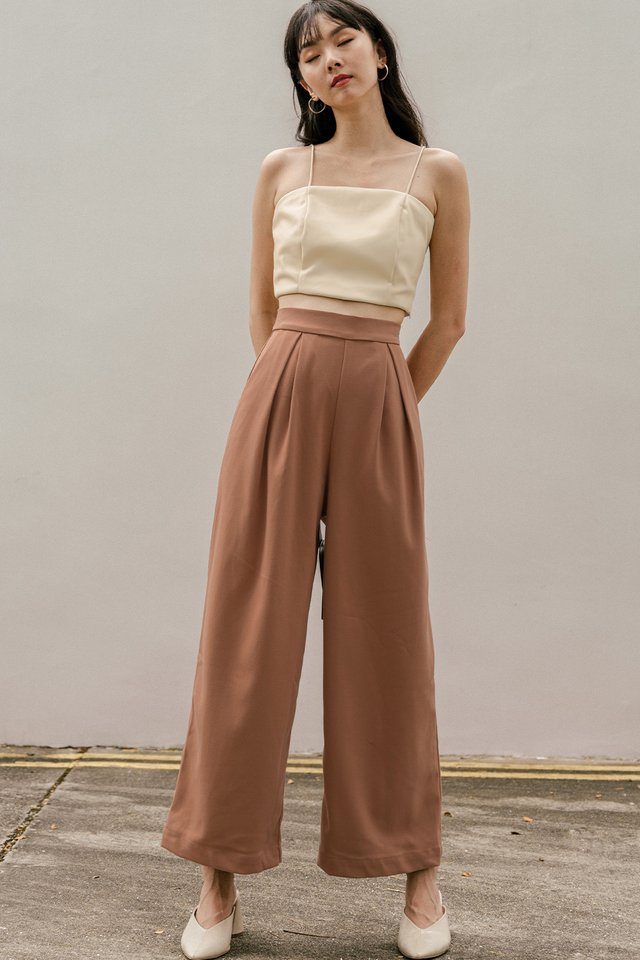 HENLEY PANTS IN CARAMEL