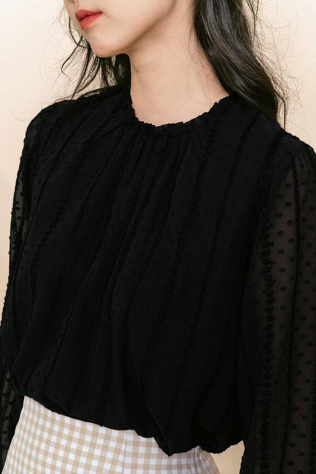 ISADORA TOP IN BLACK