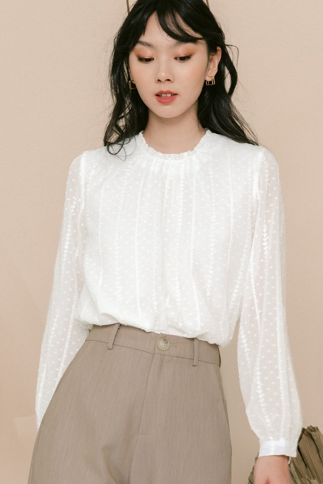 ISADORA TOP IN WHITE