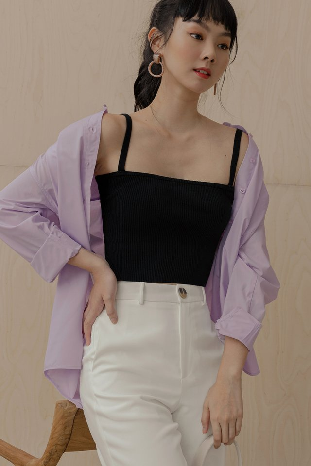 *BACKRODER* ADRIAN SHIRT IN LILAC