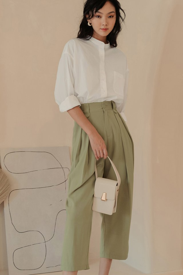 MARKOS PANTS IN KHAKI OLIVE