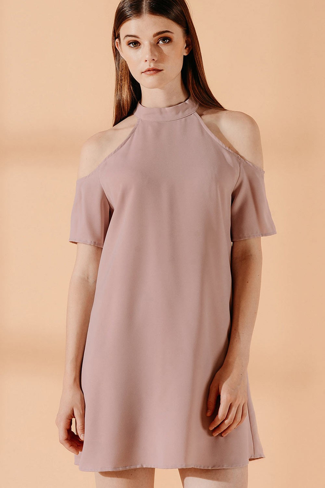 PAXTON DRESS IN PINK