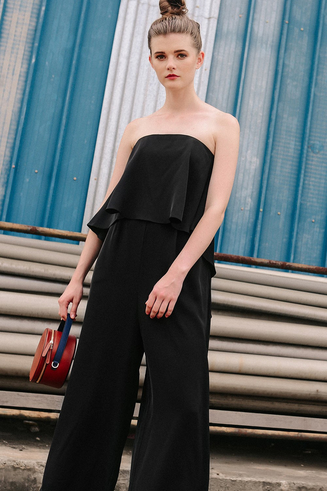 THIERRY JUMPSUIT IN BLACK