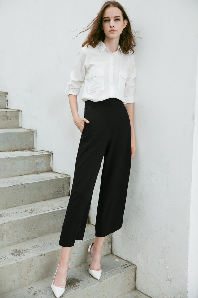 *RESTOCKED* LANGDON PANTS IN BLACK