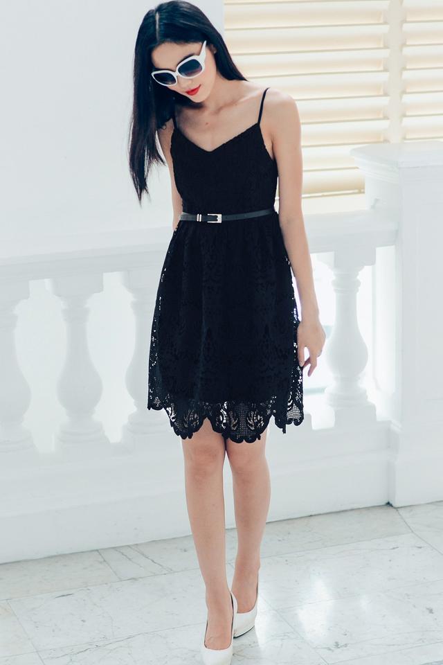 *PREMIUM**BRIDGE* Alethea Dress in Black